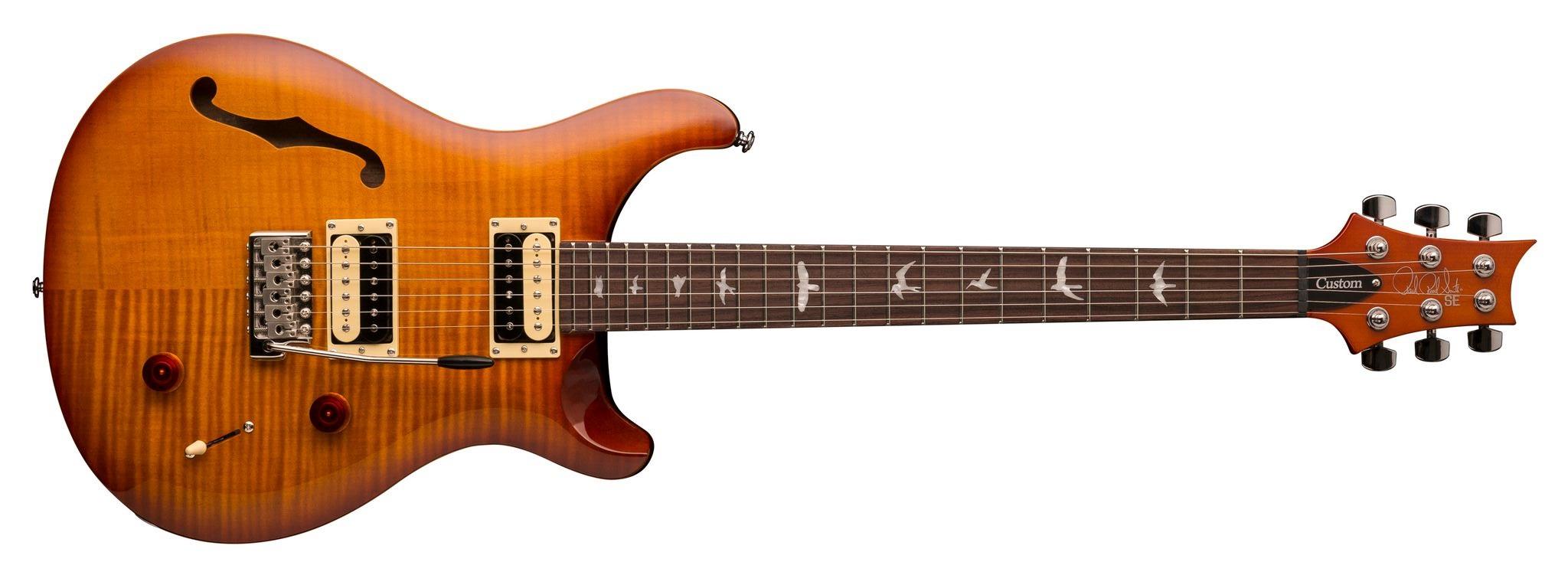 PRS SE Custom 22 Semi-Hollow VS 2018