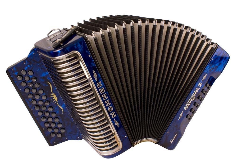 Hohner Corona II XTREME FBbEb, dark blue