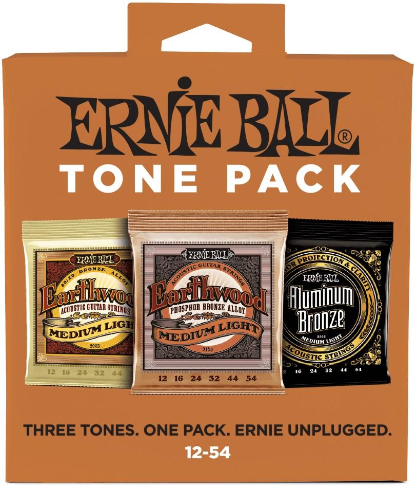 Ernie Ball Acoustic Tone Pack Medium-Light