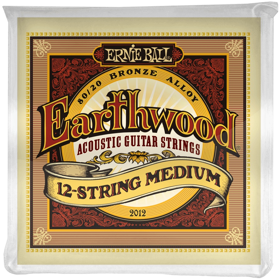 Ernie Ball Earthwood 80/20 Bronze 12-String Medium
