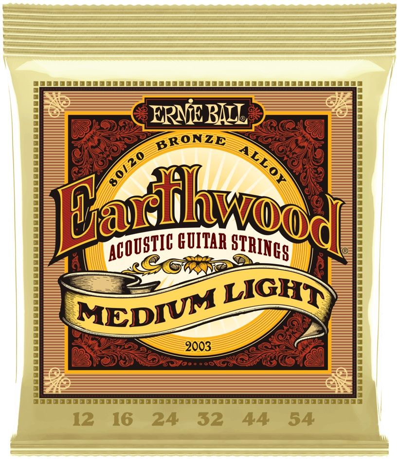 Ernie Ball Earthwood 80/20 Bronze Medium-Light