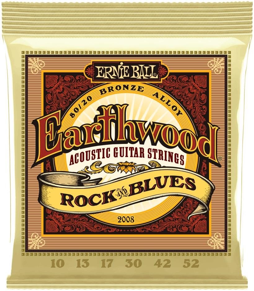 Ernie Ball Earthwood 80/20 Bronze Rock & Blues