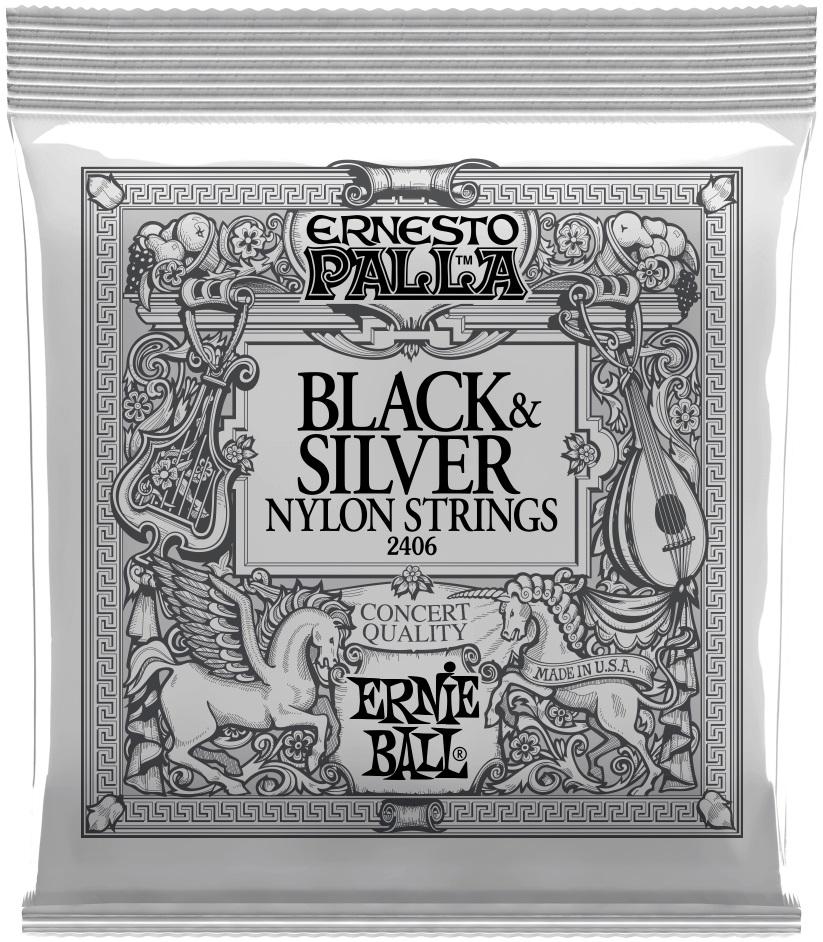 Ernie Ball Ernesto Palla Black & Silver