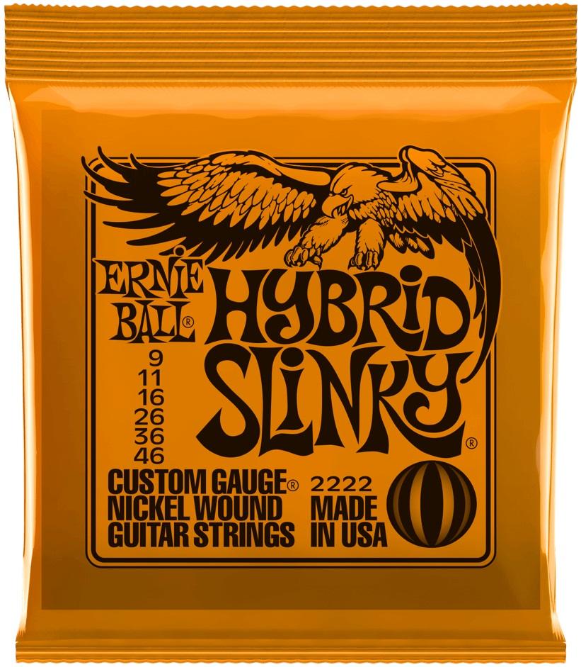 Ernie Ball Nickel Wound Hybrid Slinky