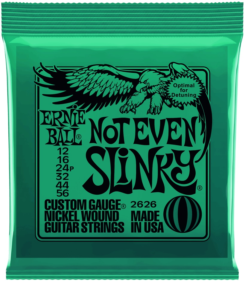 Ernie Ball Nickel Wound Not Even Slinky