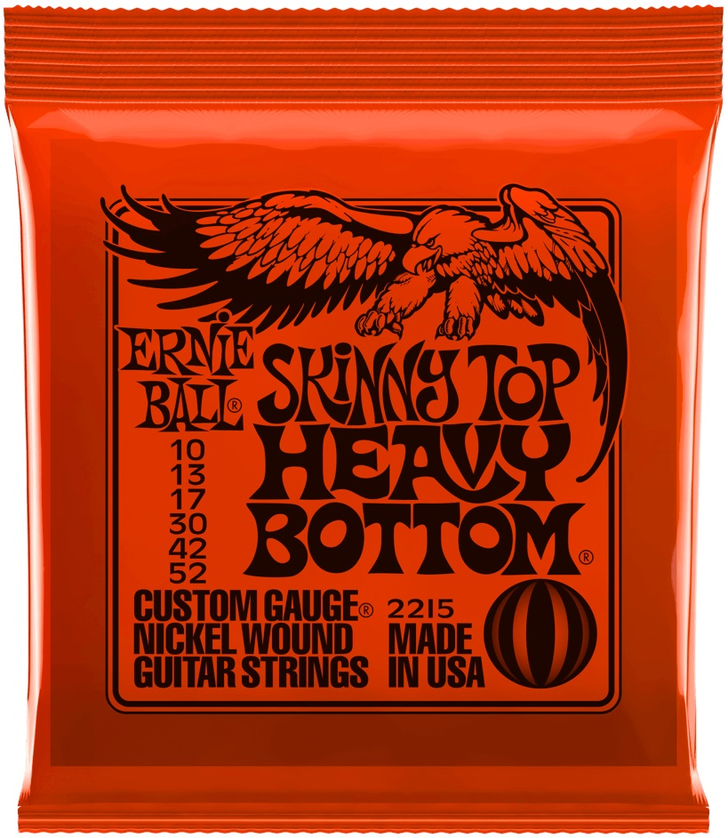 Ernie Ball Nickel Wound Skinny Top Heavy Bottom