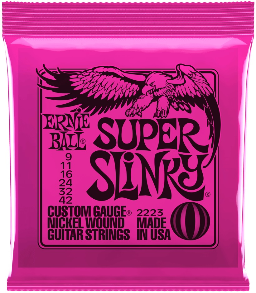 Ernie Ball Nickel Wound Super Slinky