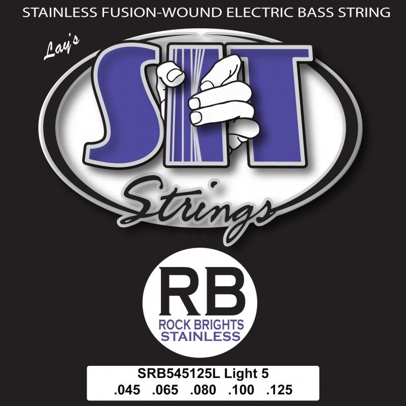 SIT RBS 545125L Rock Br. Stainl. 5string
