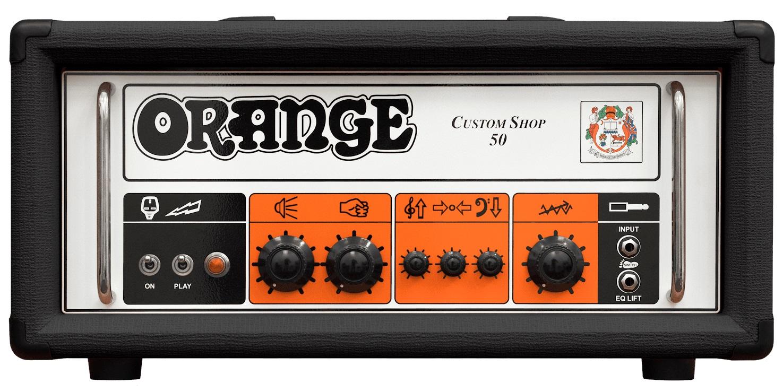Orange Custom Shop 50 Black