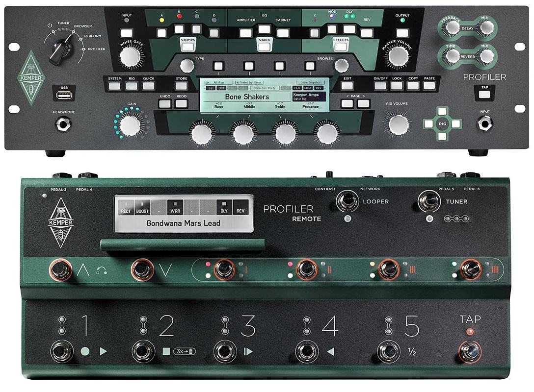 Kemper Kemper Profiler Rack + Kemper Profiler Remote