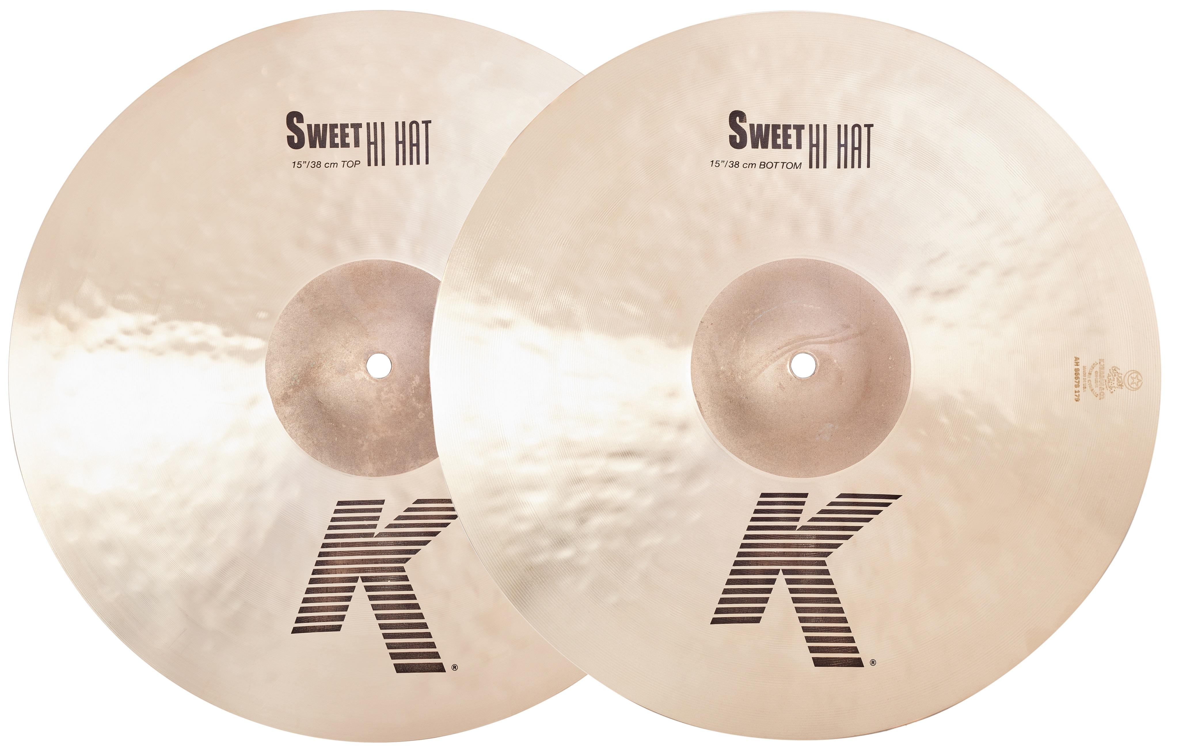 """Zildjian 15"""" K Sweet Hihats"""