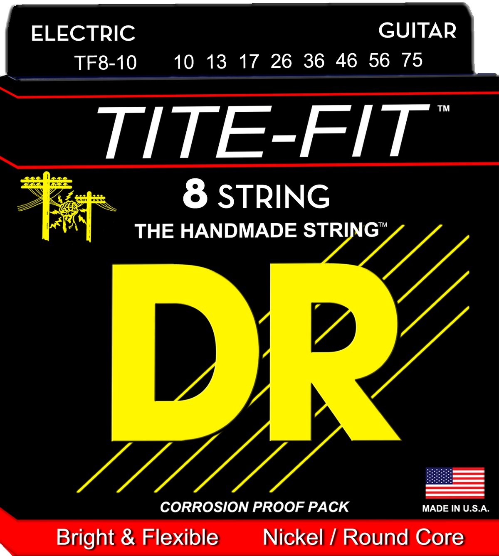 DR Tite-Fit 10/75 8-String