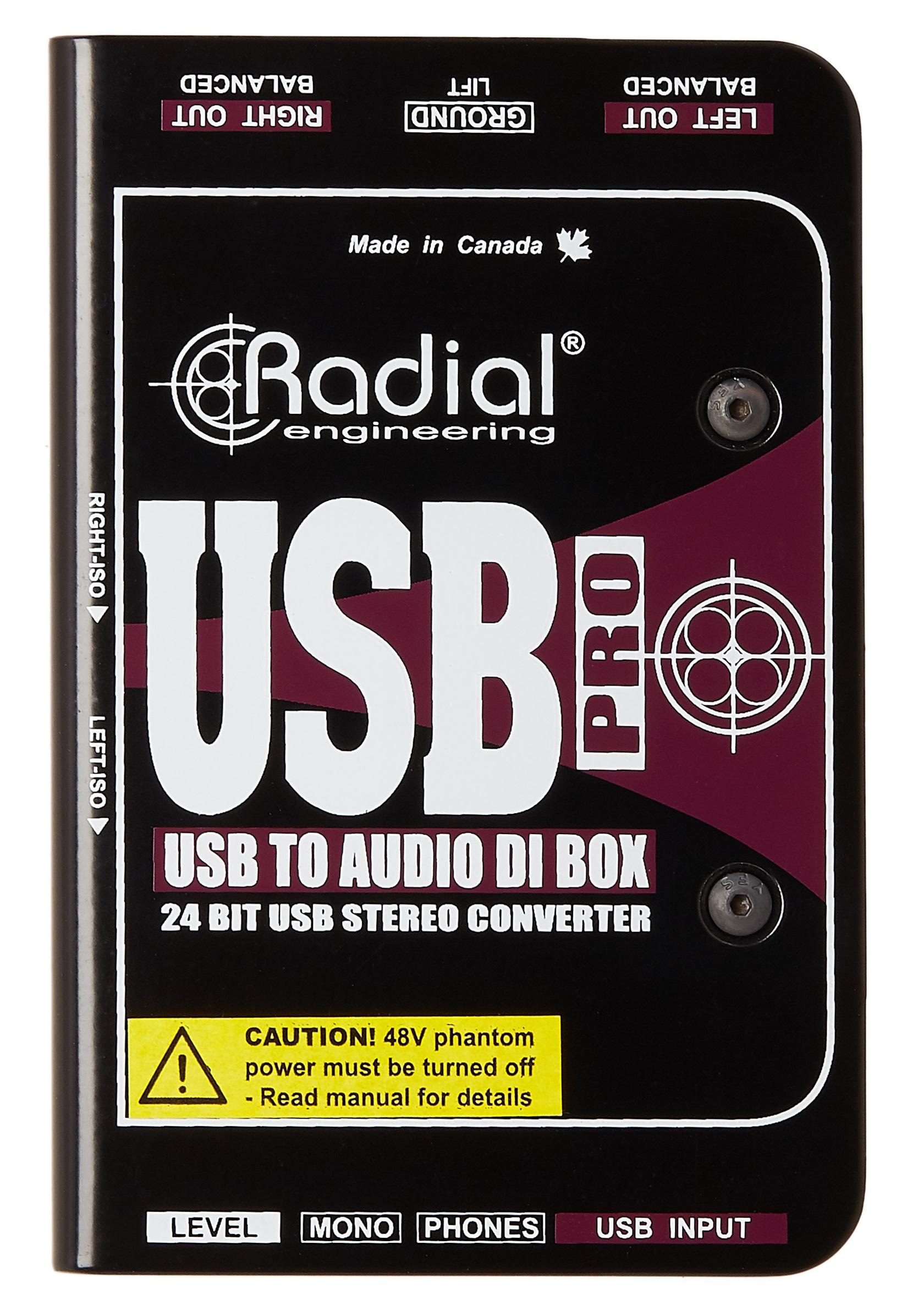 Radial Engineering USB Pro
