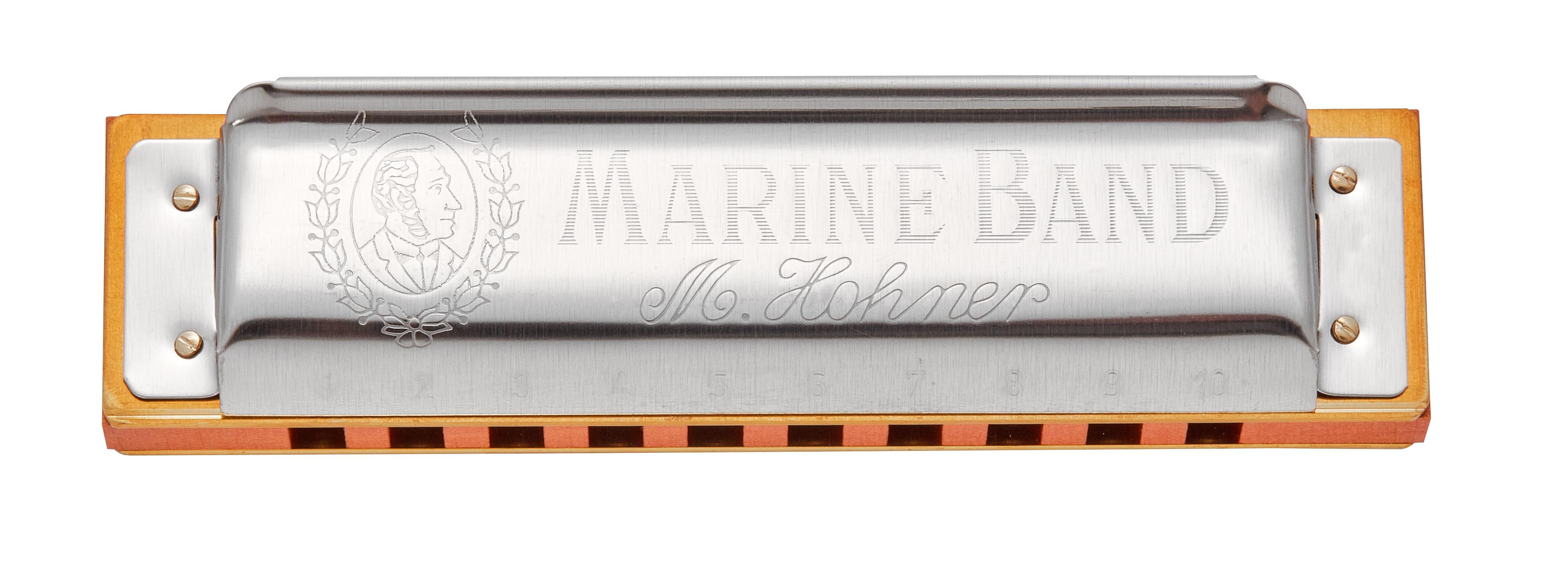 Hohner Marine Band 1896 F#-natural minor