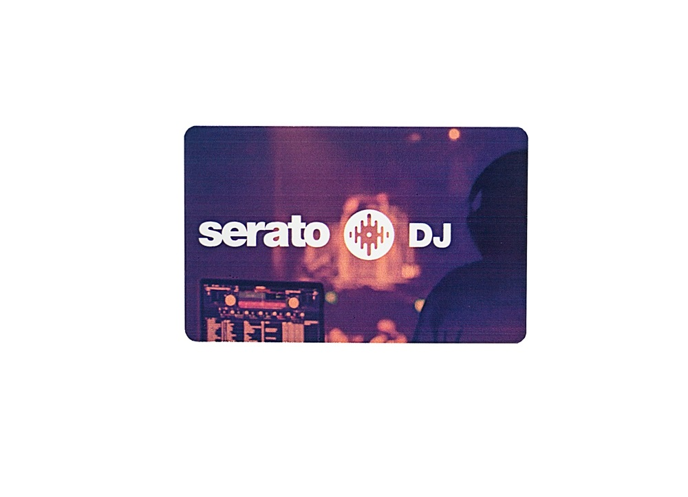 Serato DJ Software Card