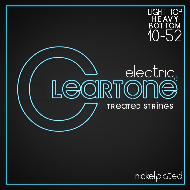 Cleartone Nickel Plated 10-52 Light Top/Heavy Bottom