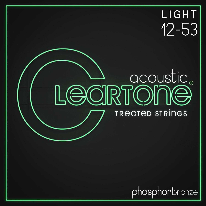 Cleartone Phosphor Bronze 12-53 Light 2-Pack