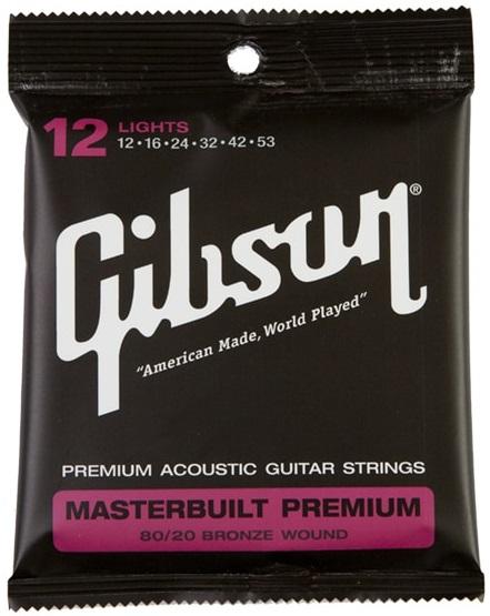 Gibson Masterbuilt Premium 80/20 Bronze Lights