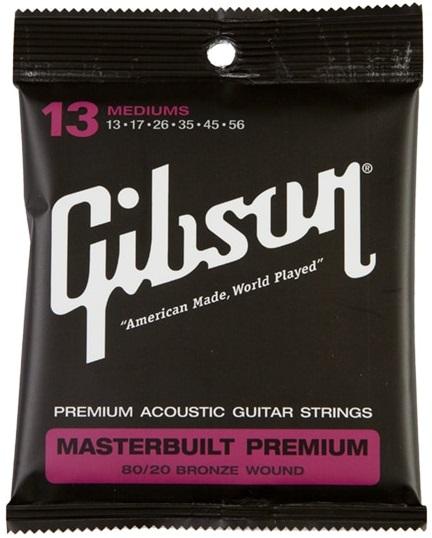 Gibson Masterbuilt Premium 80/20 Bronze Mediums