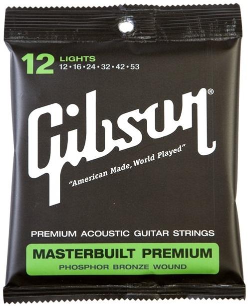 Gibson Masterbuilt Premium Phosphor Bronze Lights