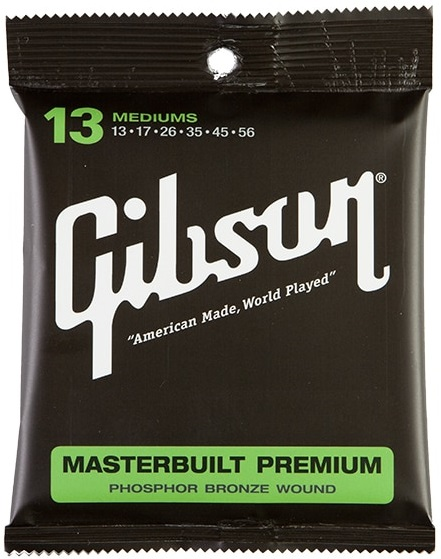 Gibson Masterbuilt Premium Phosphor Bronze Mediums