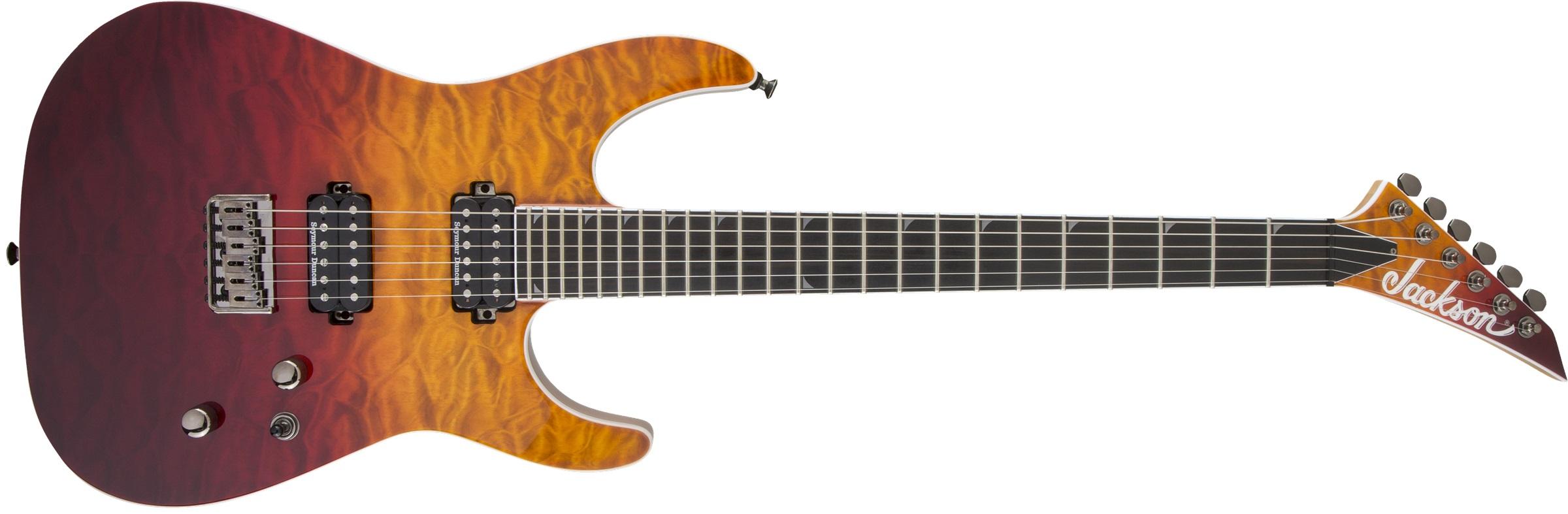 Jackson Pro Series Soloist SL2Q HT MAH EB DSS