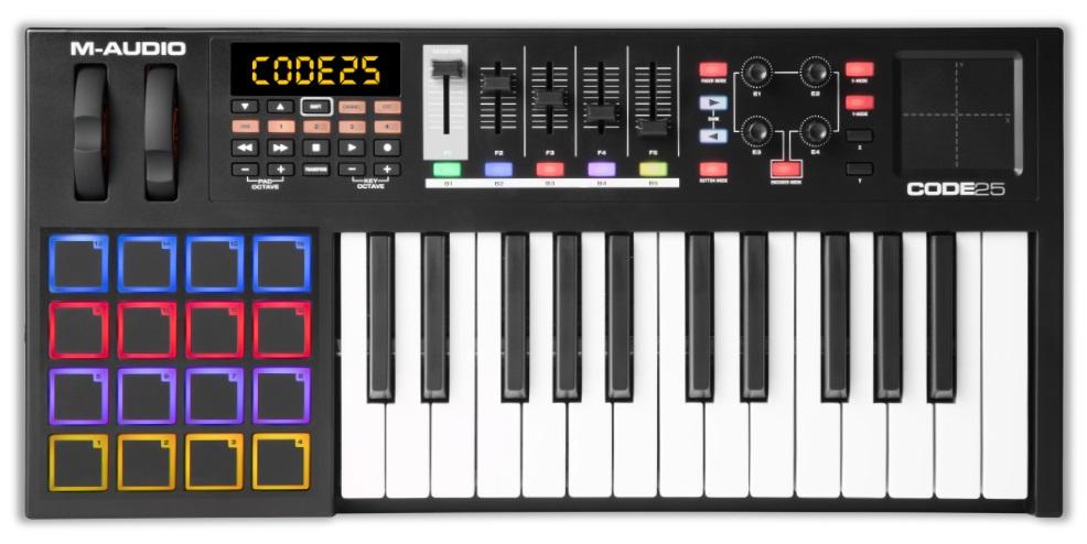 M-Audio Code 25 BK