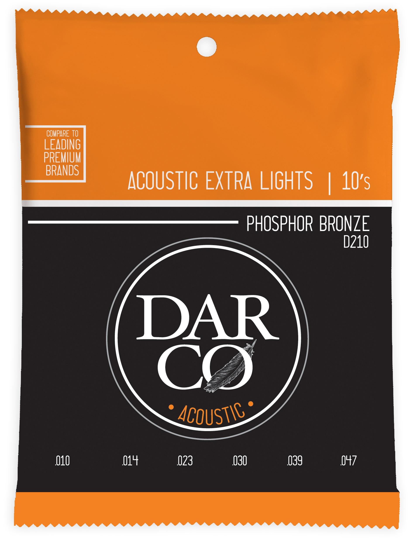 Darco 92/8 Phosphor Bronze Extra Light