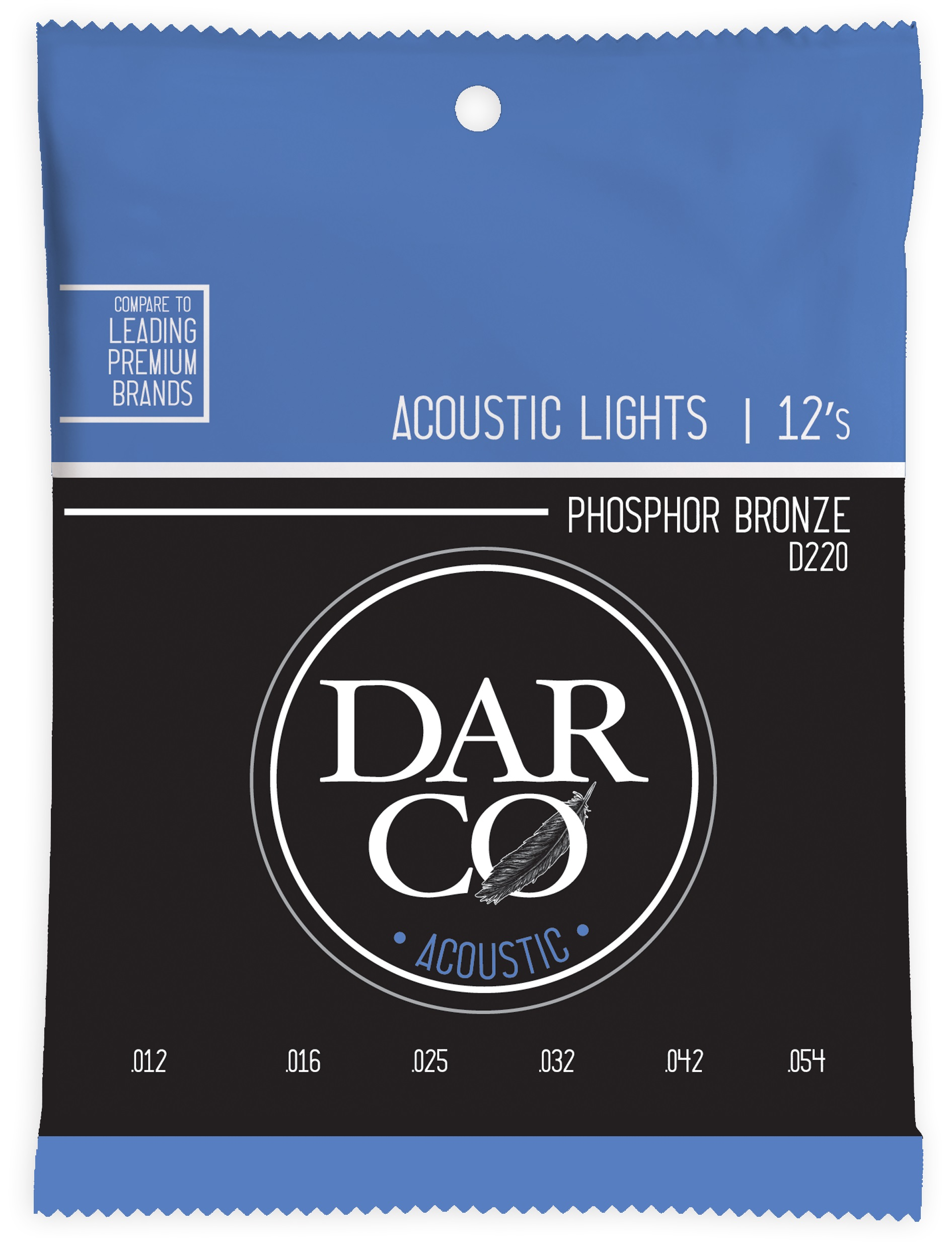 Darco 92/8 Phosphor Bronze Light