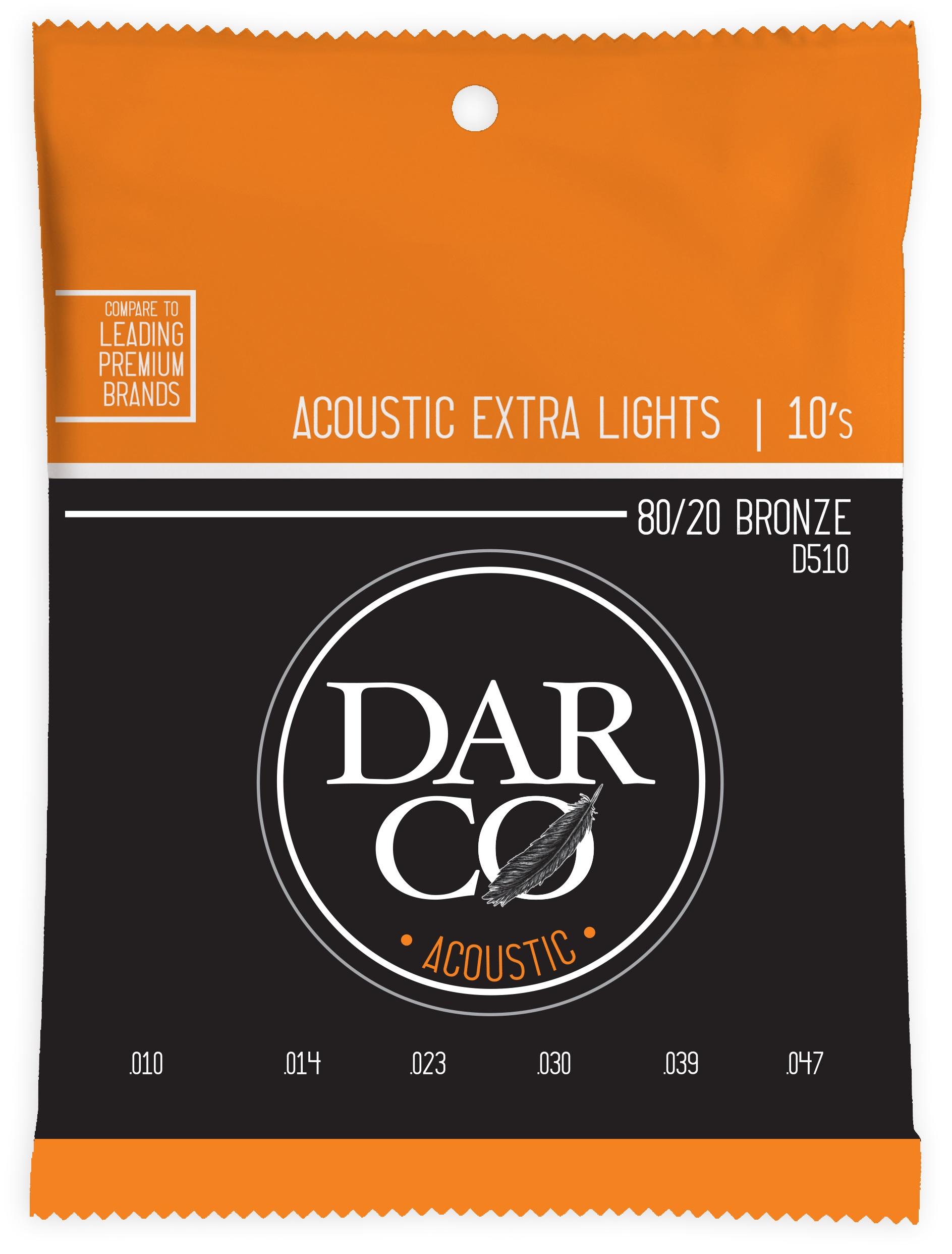 Darco 80/20 Bronze Extra Light