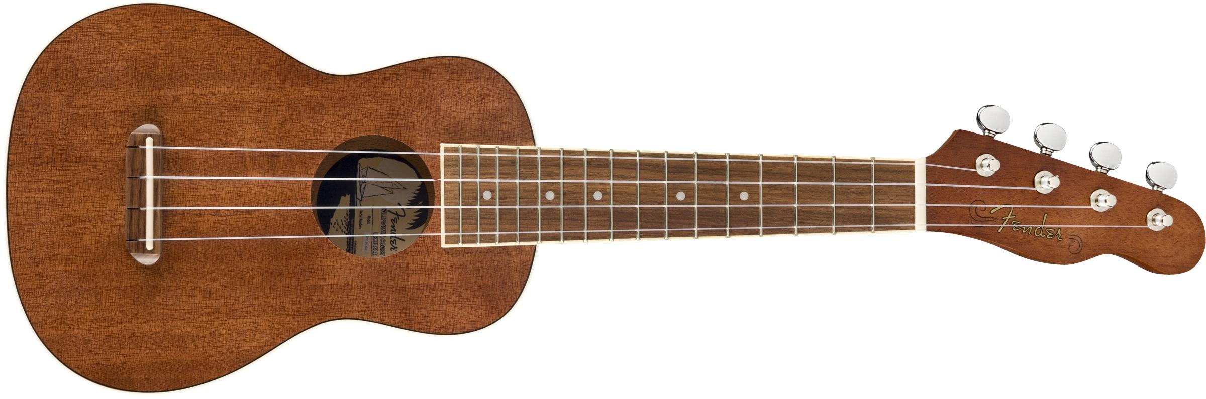 Fender Seaside Soprano Uke Pack Nat