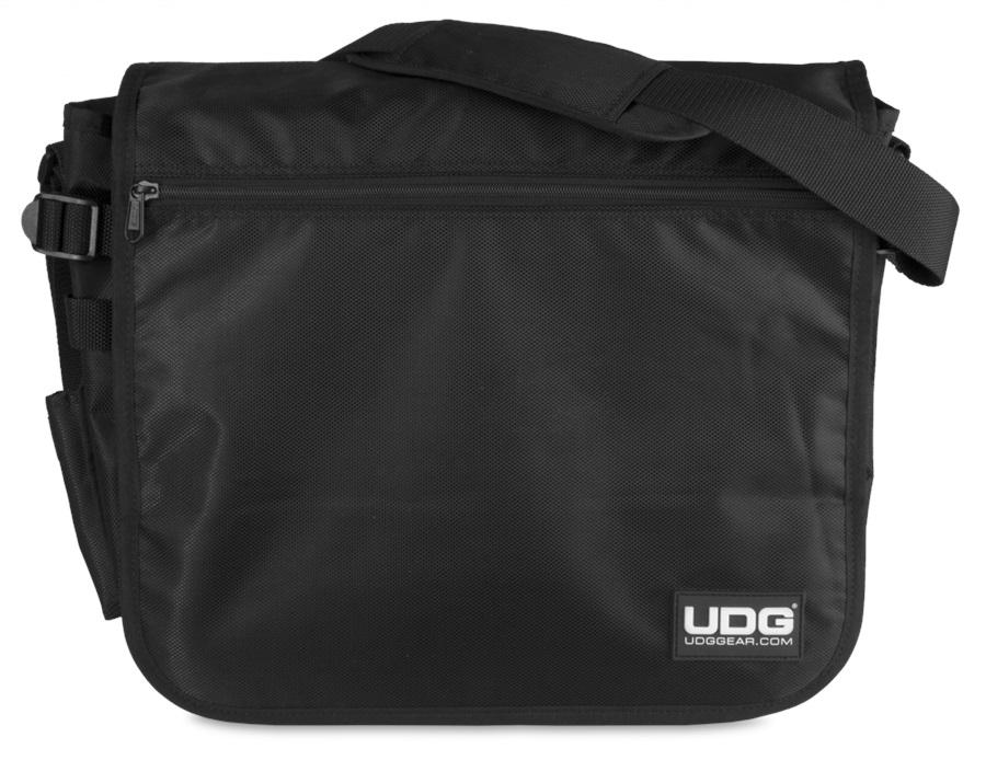 UDG Ultimate CourierBag Black, Orange inside