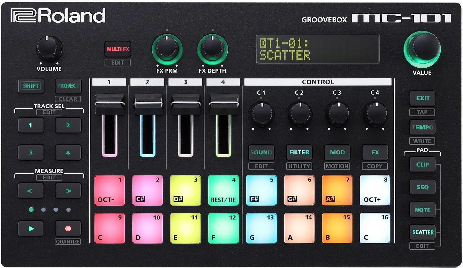 Roland GROOVEBOX MC-101