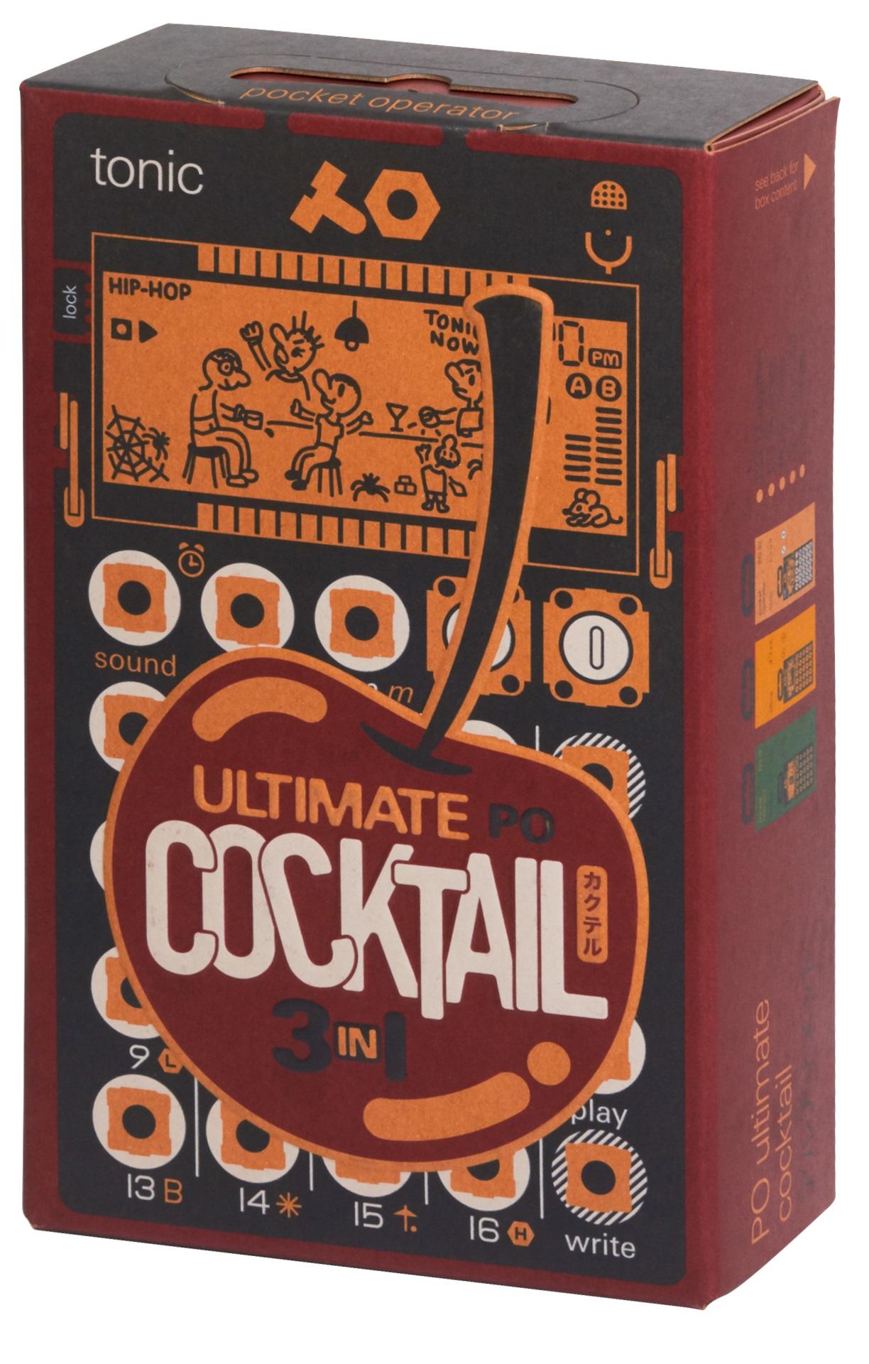 Teenage Engineering PO Ultimate Cocktail