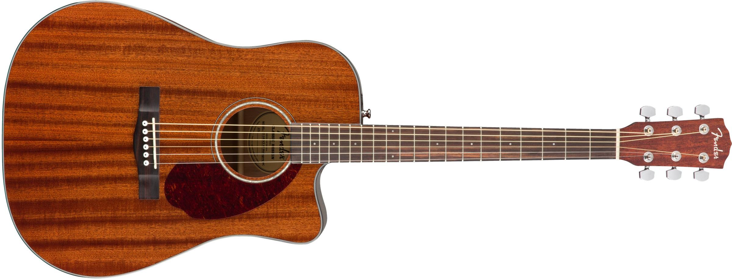 Fender CD-140SCE All-Mahogany WN NAT