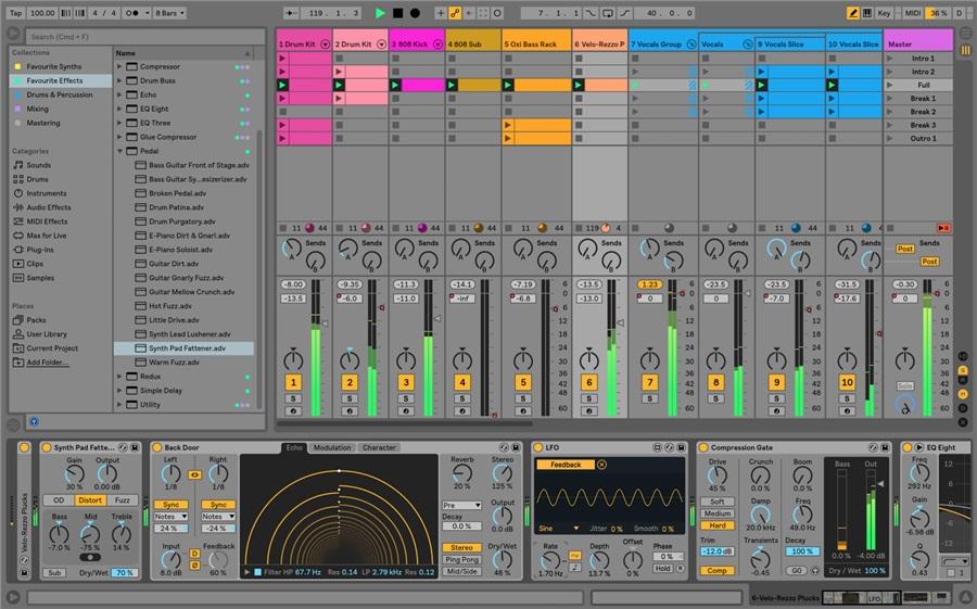 Ableton Live 10 Standard UPG from Live 1-9 Standard