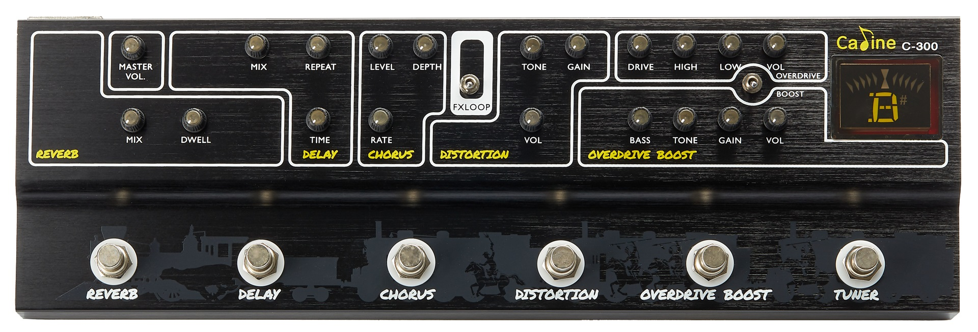 "Caline C-300 ""Multieffect"""