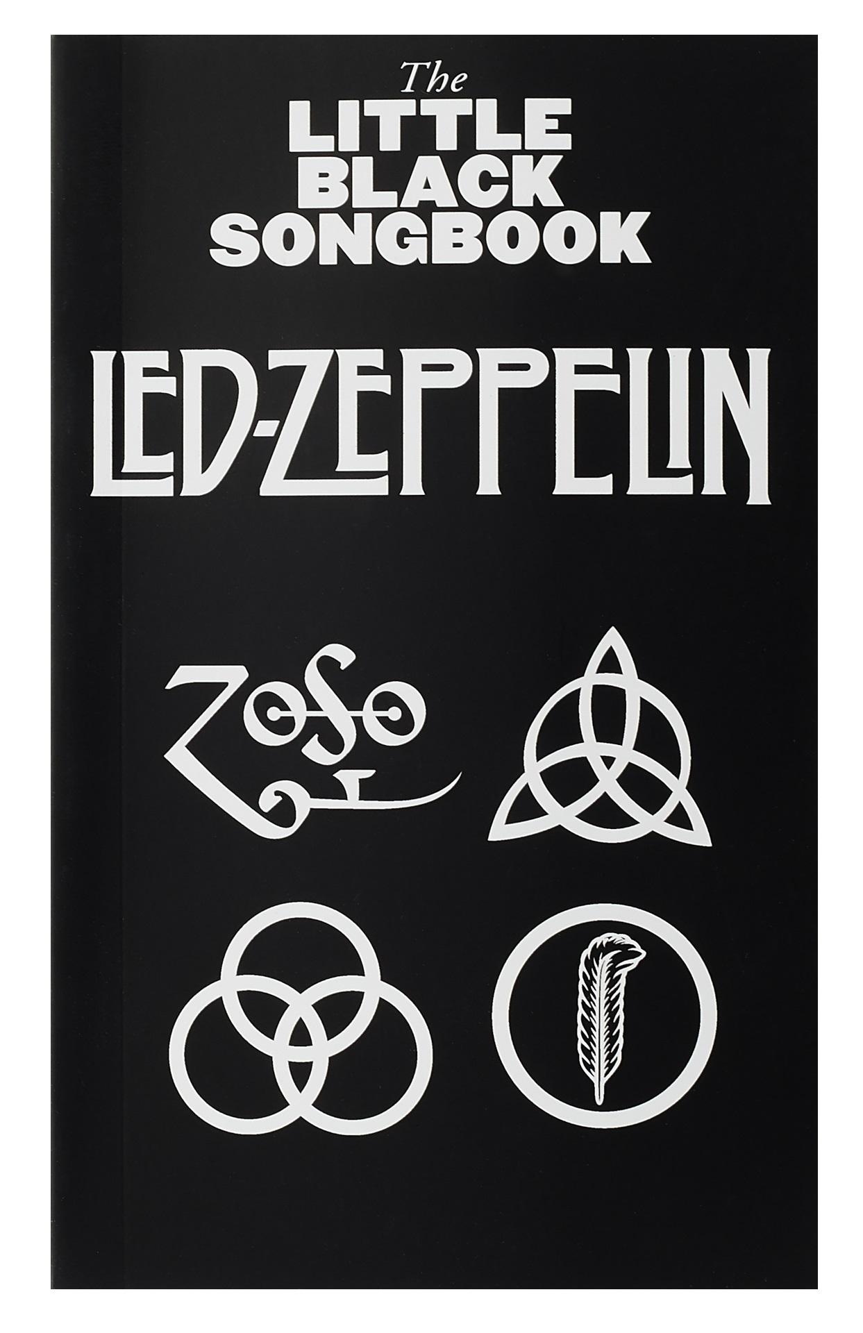 MS The Little Black Songbook: Led Zeppelin