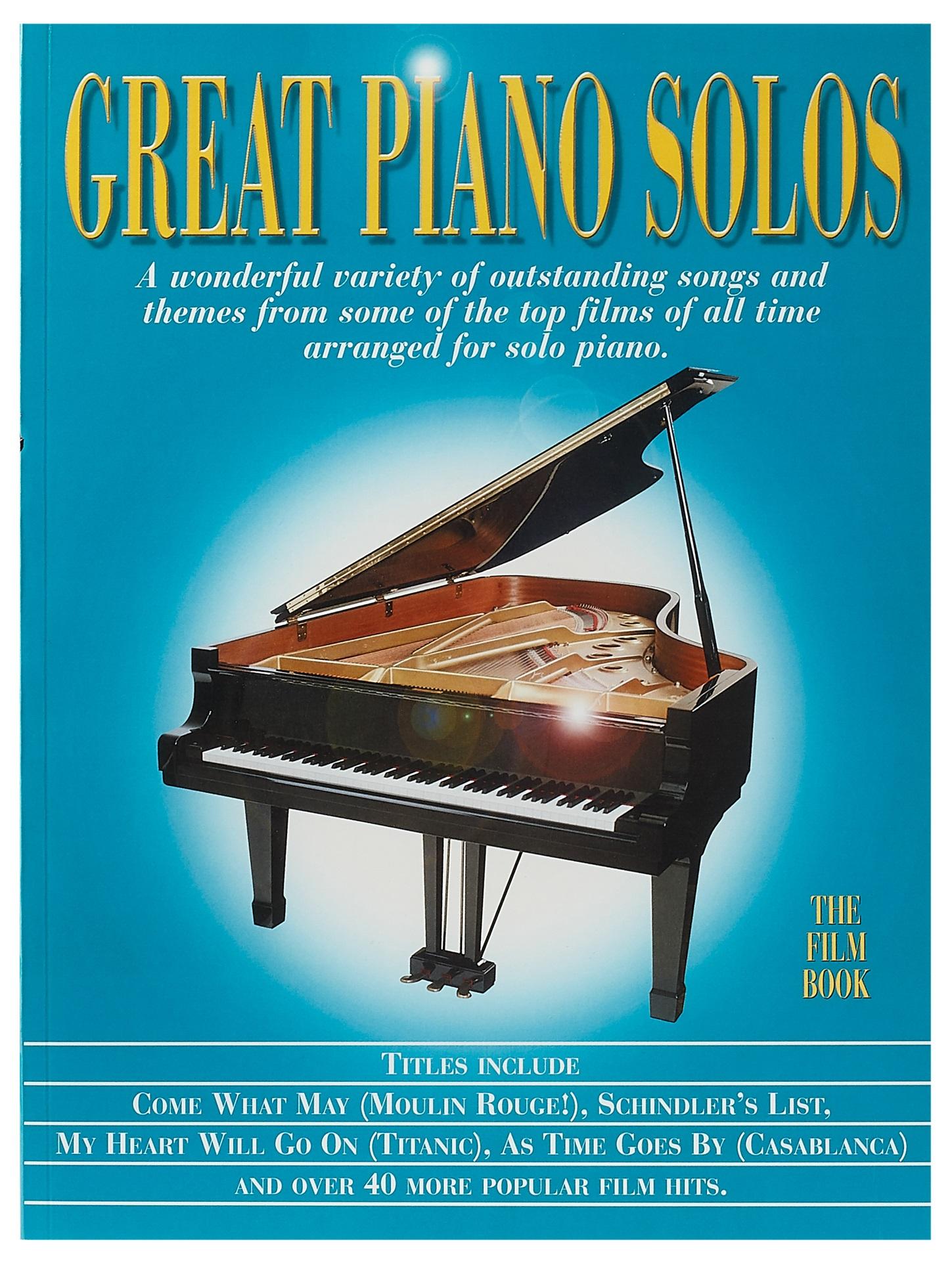 MS Great Piano Solos - The Film Book