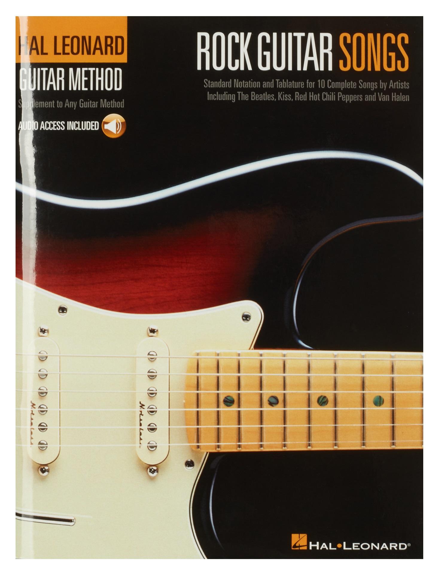 MS Hal Leonard Guitar Method: Rock Guitar Songs