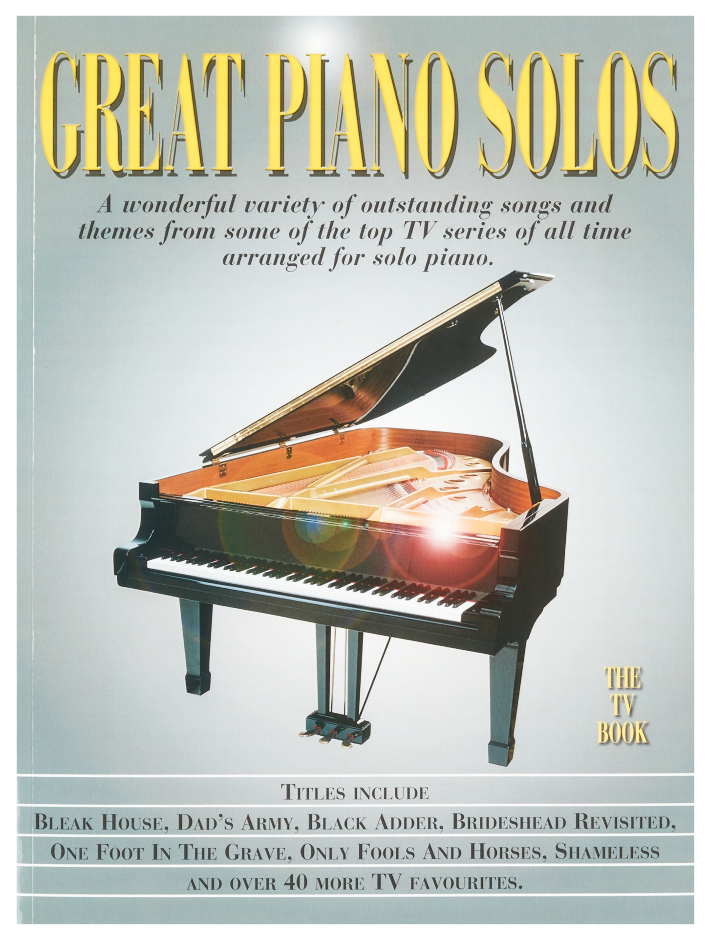 MS Great Piano Solos - The TV Book
