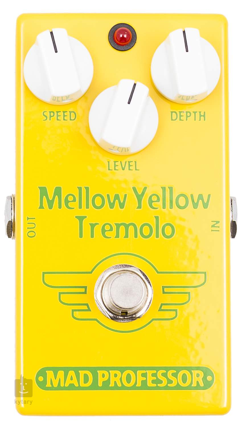 Mad professor mellow yellow tremolo gitarov efekt - Mellow yellow boutique ...